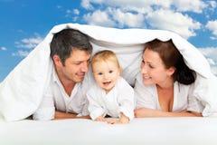 De dromen van de familie Royalty-vrije Stock Afbeelding