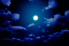 De dromen van de nacht Stock Foto's