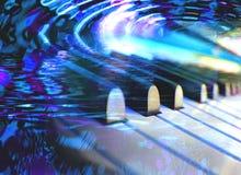 De dromen van de piano Stock Fotografie