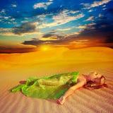 De dromen van de woestijn royalty-vrije stock foto's