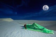 De dromen van de woestijn stock afbeelding