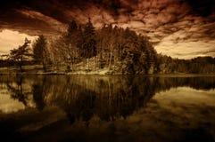 De dromen van het eiland Stock Foto