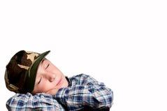 De dromen van het kind Stock Afbeeldingen