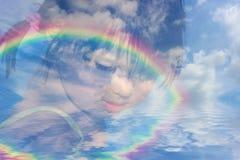 De Dromen van kinderjaren royalty-vrije stock foto's