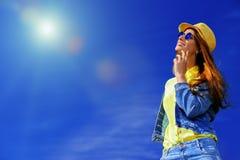 De dromerige zomer Stock Afbeelding