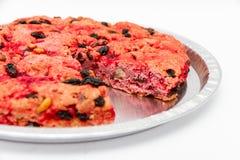 De dronken cake is een dessert van het eiland van Elba royalty-vrije stock foto's
