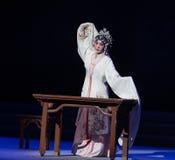 """De dronken-derde handeling Mannelijke Gele wijn-Kunqu Opera""""Madame Witte Snake† stock afbeeldingen"""