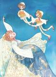 De droom van de bruid Royalty-vrije Stock Afbeelding