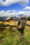 De Droom van de eigenaar van een ranch Royalty-vrije Stock Afbeelding