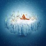 De droom van de winter Stock Foto's