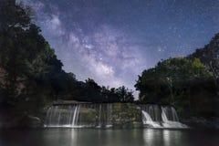 De Droom van midzomernachten - Indiana Waterfall Royalty-vrije Stock Foto's