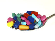 De Drugs van de geneeskunde Stock Fotografie