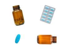 De Drugs van het voorschrift Stock Foto