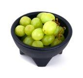 De druiven van de kom Royalty-vrije Stock Afbeelding