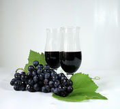 De druiven van de wijn Royalty-vrije Stock Afbeeldingen