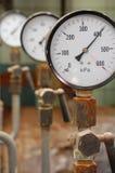 De druk van de manometer Royalty-vrije Stock Fotografie