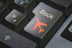 De drukknop van de boekvlucht stock fotografie
