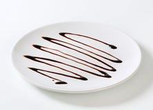De druppel van de chocoladestroop Royalty-vrije Stock Afbeelding