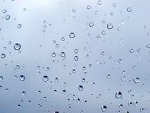 De druppeltjes van de regen Royalty-vrije Stock Afbeeldingen