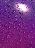 De druppeltjes van het water Royalty-vrije Stock Afbeeldingen