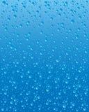 De druppeltjes van het water Stock Afbeeldingen
