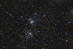 De dubbele cluster van de ster Royalty-vrije Stock Afbeeldingen