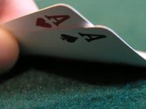 De dubbele hand van de aaspook Stock Foto