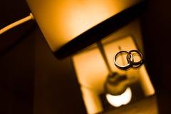 De dubbele Ring van de Eeuwigheidsliefde royalty-vrije stock foto