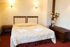 De dubbele ruimte van het hotel Royalty-vrije Stock Foto's