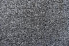De duidelijke donkere grijze stof van Jersey van hierboven Stock Afbeeldingen