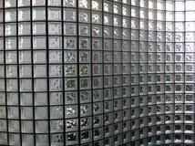 De duidelijke Muur van het Glasblok Royalty-vrije Stock Fotografie