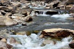 De duidelijke rivier van Tibet Royalty-vrije Stock Fotografie