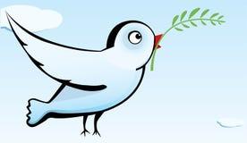 De duif van de vrede Stock Foto's