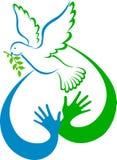 De duif van de vrede Royalty-vrije Stock Afbeeldingen