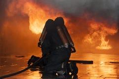 De duik van de rook Stock Foto's