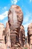 De Duim in Monumentenvallei, Arizona Stock Foto's
