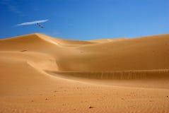 De duinen Marokko van de woestijn Stock Fotografie