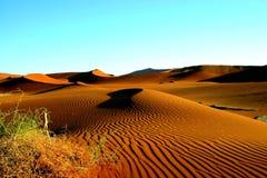 De duinen Namibië royalty-vrije stock foto's