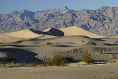 De Duinen van het zand royalty-vrije stock afbeeldingen