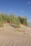 De Duinen van het zand en Hemel Royalty-vrije Stock Afbeeldingen