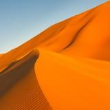 De Duinen van het zand, het Overzees van het Zand Awbari, de Woestijn van de Sahara, Libië Royalty-vrije Stock Afbeeldingen