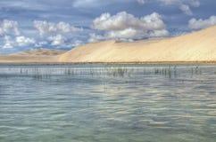 De Duinen van het zand, Lencois Royalty-vrije Stock Afbeelding