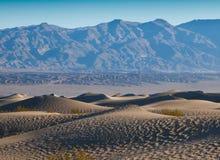 De Duinen van het Zand van de Vallei van de dood Stock Afbeelding