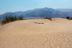 De Duinen van het Zand van de Vallei van de dood Stock Fotografie