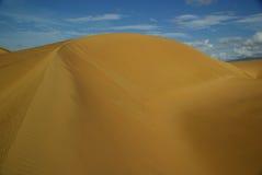 De duinen van het zand in Venezuela Royalty-vrije Stock Foto's