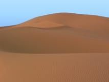 De duinen van Merzouga Royalty-vrije Stock Foto