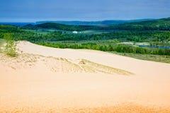 De duinen van Michigan royalty-vrije stock afbeelding