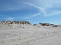 De duinen van Nederland Stock Foto's