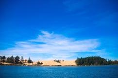 De Duinen van Oregon Stock Afbeeldingen