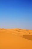 De duinenverticaal van het zand Stock Foto